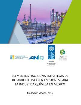 Elementos hacia una Estrategia Bajo en Emisiones Industria Química